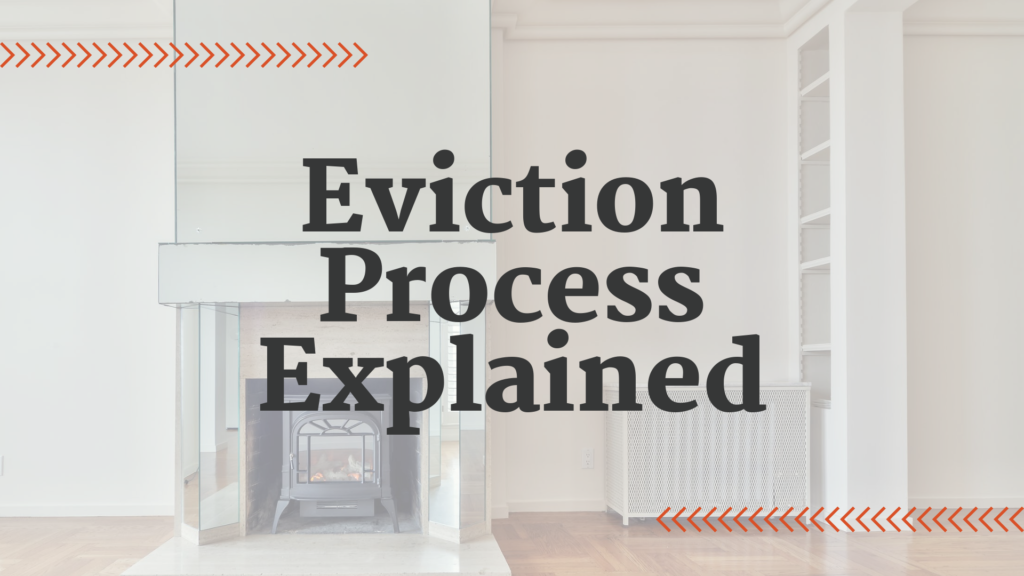 Eviction Process Explained by an Expert Property Manager